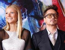 Robert Downey Jr. and Gwyneth Paltrow