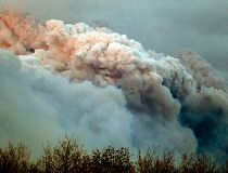 Fort McMurray smoke plume May 4