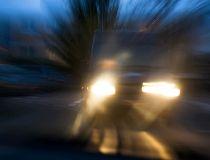 truck night blurry drunk driving GETTY