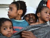Libya migrants rescue