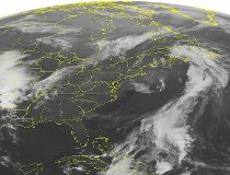 NOAA satellite image