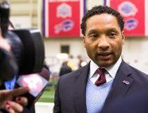 ORCHARD PARK, NY - JANUARY 14: Buffalo Bills General Manager Doug Whaley