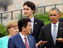 G7 leaders