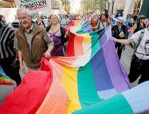 Pride March Calgary 2012