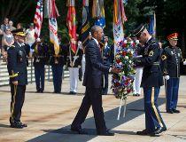Barack Obama, Memorial Day