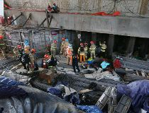 subway construction explosion