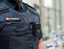 Body-worn camera on Toronto Police. (Supplied)