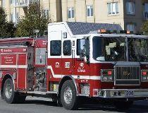 Gatineau fire truck