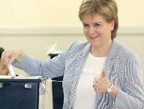 Scotland First Minister Nicola Sturgeon