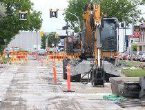 Keewatin Street construction