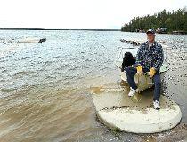 Jim Dixon West Hawk flood