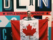 Ben Put champion barista