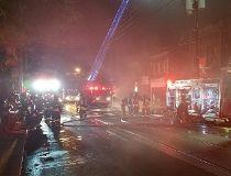 Toronto Fire Bathurst Dundas