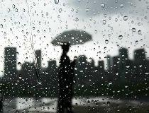 Rain Calgary storm file photo