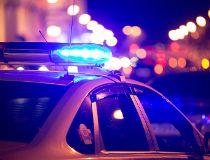 Police lights Getty