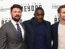 Karl Urban, Idris Elba and Chris Pine