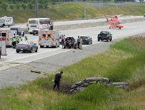 Hwy. 407 crash