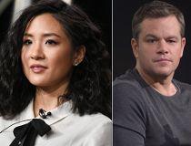 Constance Wu and Matt Damon