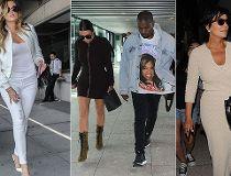 Kardashian airport style
