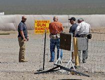 Gun Range Uzi