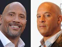 "Dwayne ""The Rock"" Johnson and  Vin Diesel"