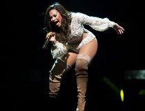 Photos:  Demi Lovato and Nick Jonas in Edmonton _4