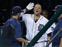 Detroit Tigers' Victor Martinez