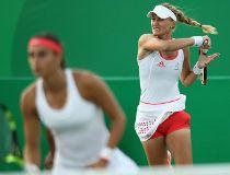 Caroline Garcia and Kristina Mladenovic
