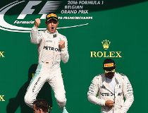Daniel Ricciardo Nico Rosberg Lewis Hamilton