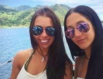 Melina Roberge and Isabelle Lagace