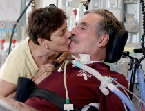 Greg Hug with his wife Maria Rocha-Hug