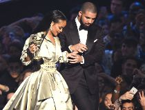 Drake presents Rihanna