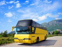 Motor coach tour