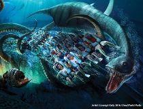 Seaworld Kraken Virtual Reality roller coaster