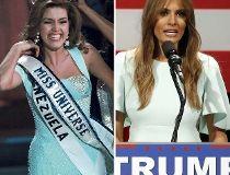 Alicia Machado Melania Trump