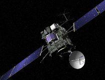 Rosetta cometary probe