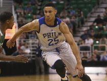 Philadelphia 76ers' Ben Simmons