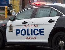 Edmonton police car