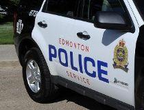 Edmonton police cruiser