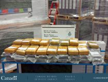 Cocaine seizure announced October 20 2016 Alberta CROPPED