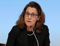 Minister of International Trade Chrystia Freeland