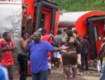 Cameroon train crash