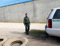 U.S. Border Patrol agent Raquel Medina