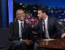 Obama and Kimmel