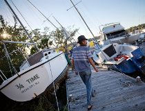 Hurricane Matthew boats