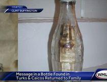bottled message