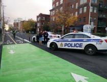 O'Connor bike lane