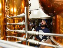 Head brewer Spike Baker