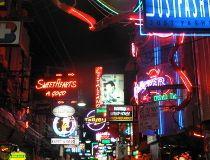 Thai red light district