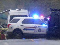 Langley crime scene